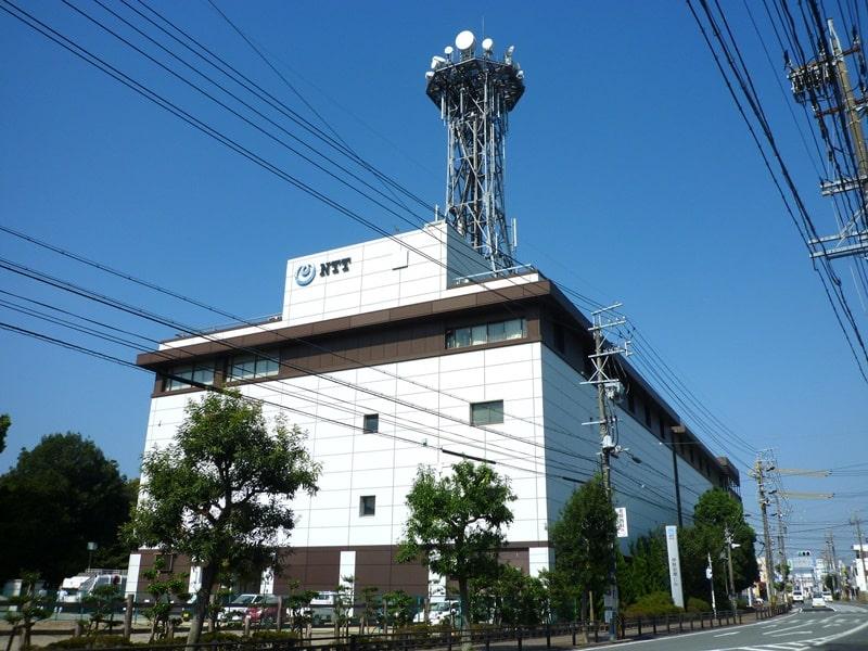 NTT収容局