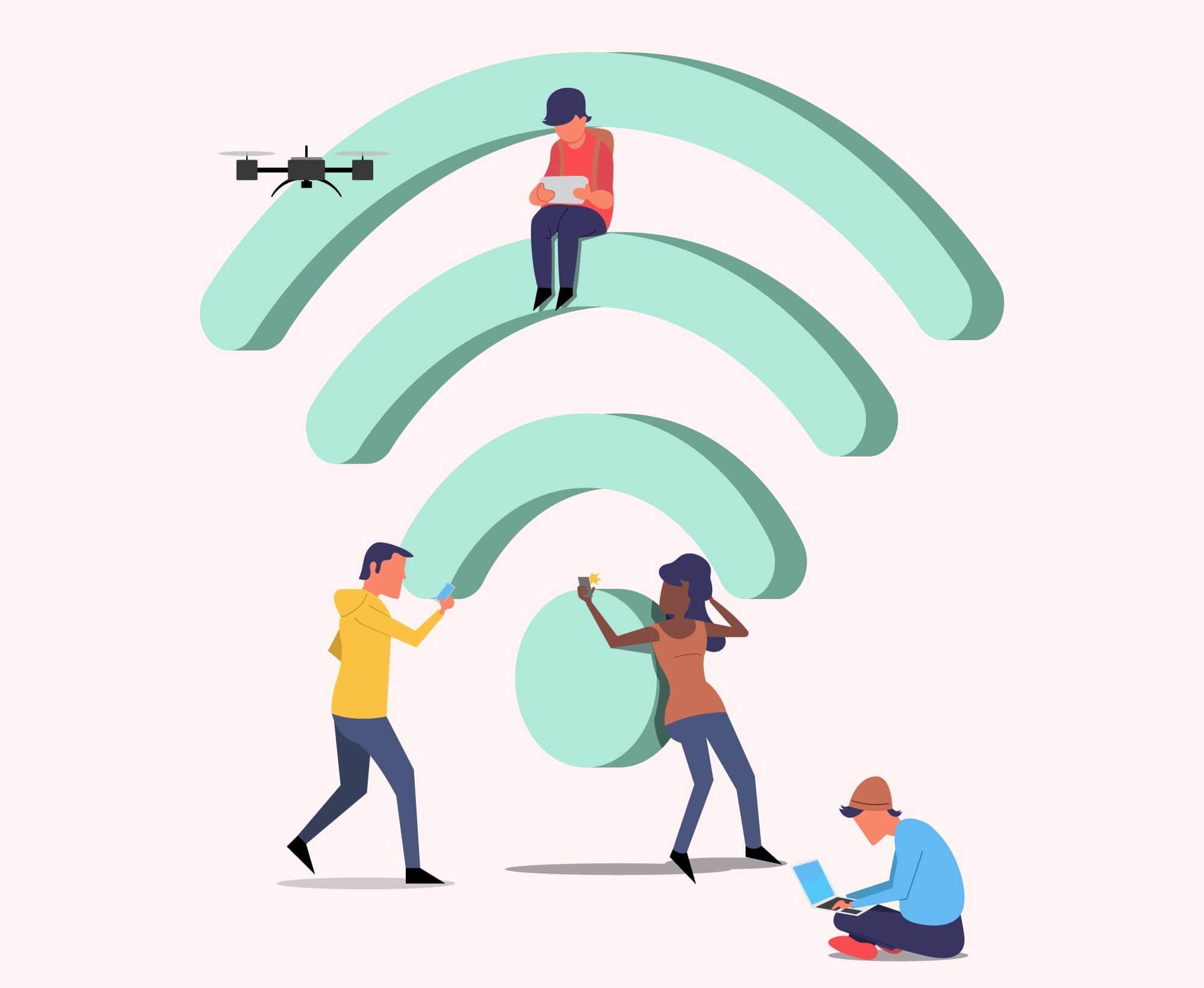 限界突破wifi つながり