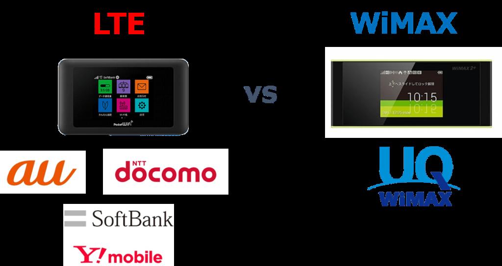 WiMAXとLTEの違いとは?